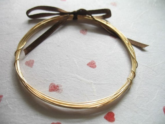 14k Gold Filled Wire, 28 g gauge ga Bulk, 20 ft feet, dead soft, round...wholesale sale discount wire wrapping WGF28..