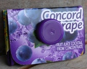 Juicy Coin Purse, Concord Grape, Recycled, purple