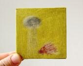 rain rain / original painting on canvas