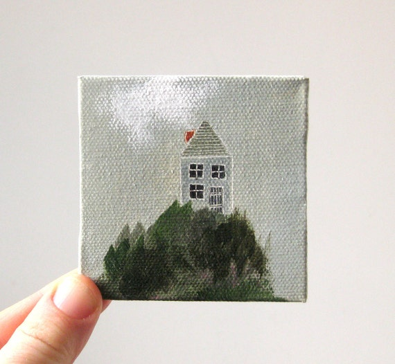 hill house / original painting on canvas