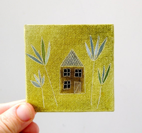garden house no. 8 / original painting on canvas