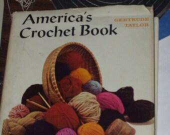 Vintage America's Crochet Book (Hardcover)