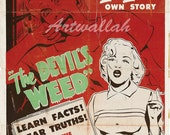 Devil Weed - Vintage Movie Poster - 8.5 x 11 inches - Digital Reproduction  No. 1016