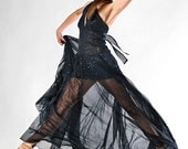 night sky evening gown in any size to be custome ordered
