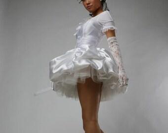 little lolita wedding Marie Antoinette Fantasy angel  short tutu costume dress to be custome made