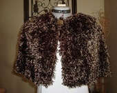 Capelet Brown, Soft and Fuzzy
