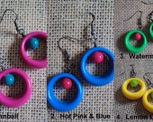 5 Dollar Earrings - Retro Hoops