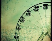 Amusement Park - Ferris Wheel 8x8 fine art photograph
