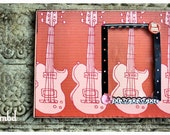 Pink Guitars Picture Frame