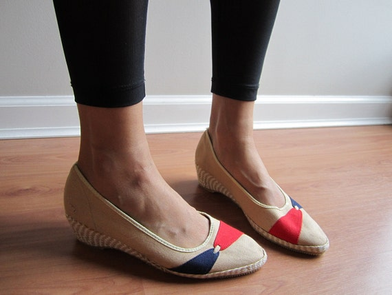 Blue and Red Wedges