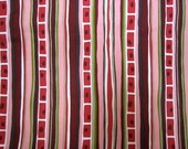 Alexander Henry - Anjou Stripes in Pink - 1 yard
