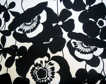 Sophia in Tea and Black Home Decor Fabric by Alexander Henry - 1 Yard