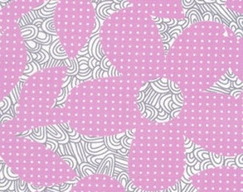 Weekends Dots and Loops in Violet by Erin McMorris for Free Spirit - 1 Yard