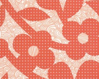 Weekends Dots and Loops in Red by Erin McMorris for Free Spirit - 1 Yard