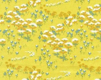 Modern Meadow Flower Field in Sunglow by Joel Dewberry for Free Spirit - Final Yard