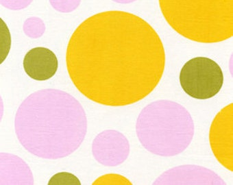 Sale Nicey Jane Dream Dots in Clementine by Heather Bailey for Free Spirit - 1 Yard
