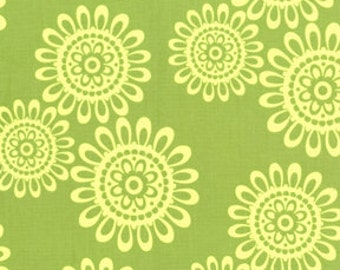 Ooh La La Fleur de Soleil in Lime by Pillow and Maxfield for Michael Miller - 1 Yard