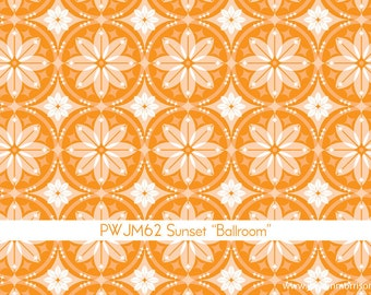 Grand Hotel Ballroom in Sunset by Jenean Morrison for Free Spirit - 1 Yard