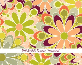 Grand Hotel Veranda in Sunset by Jenean Morrison for Free Spirit - 1 Yard