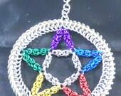 Multi-color Pentacle