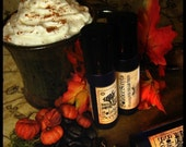 PUMPKIN SPICE LATTE PERFUME - Coffee, Sweet Pumpkin, Cinnamon, Gingerbread Whipped Cream and a drop of Nutmeg - Fall Collection