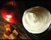 CARAMEL APPLE - Body Ganache Silky Whipped Body Butter VEGAN 4 oz. - Gooey caramel, Crisp Red Apple and Sweet Green Apple - Fall Collection