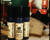 SALE Dark Ginger Spicecake Perfume - Gingerbread, Woodsy Musk, Patchouli and Vetiver