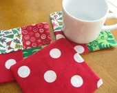 Holiday Coasters (set of four)