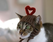 I Heart You Cat Hat Valentine's Day Holiday Love