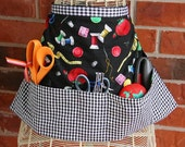 Pattern Vendor / Hobby Apron, download  - very easy beginner sewing pattern