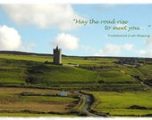 Irish Blessings 5x7 art cards with envelopes