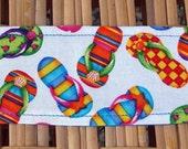Childrens Headband, Handmade Headband, Child Headband, Girls Headband, Girls Head Band, Flip Flops