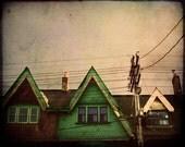 Toronto Art Architecture Photography Metallic Paper House Art Queen Street West Photo Art Prints Canadian Sellers - Daybreak