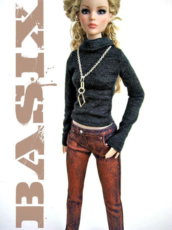 BASIX Metallic collection jeans  COPPER PENNY