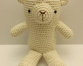 Edward the Polar Bear - amigurumi (zoo.series)