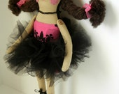 Made To Order - Pretty Ballerina Girl That LOVES To Eat Cupcakes