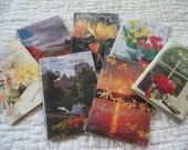 Seven Little Vintage Scripture and Poetry Booklets from the 1980s