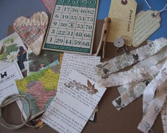 Bundle of Vintage and Handmade Goodies