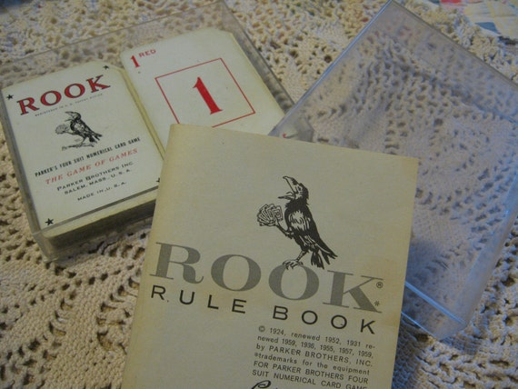 Vintage and Complete 1963 Rook Card Game