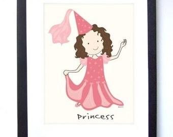 Princess Print 8x10