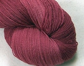 Lace Weight - Silk Wool - Cranberry
