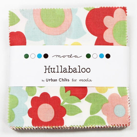 Hullabaloo Charm Pack by Urban Chiks for Moda