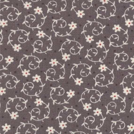 REMNANT - Last 22 inches (1/2 yd + 4) of Marketplace in Concrete - Hometown by Sweetwater - Moda Fabrics