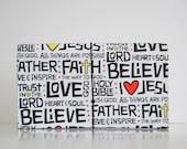 Faith ACCORDION Coupon Pocket Book