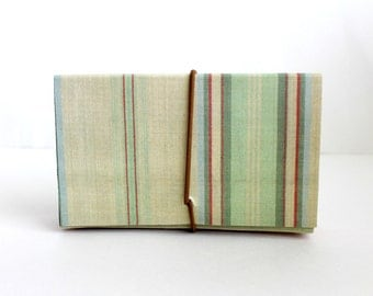 Coupon Organize/Accordion File/Linen/Multi Stripe