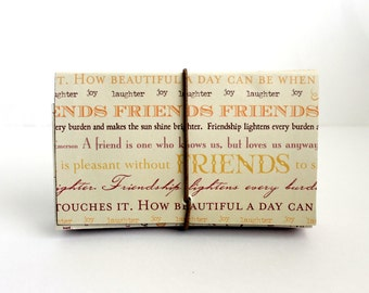 Coupon Organizer/Holder/Beige/ Friendship