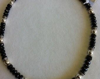 Amazing Black Spinel Necklace