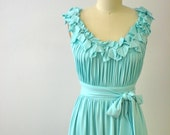 Gadsden Street Dress in Aqua