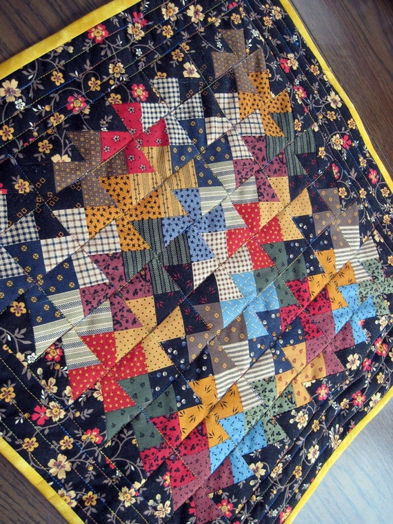 Quilted Lil Twister Doll Quilt / Table topper
