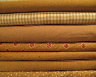 Moda Fabric Cinnamon Star